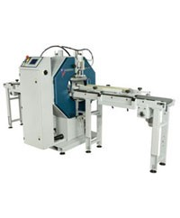 Robopac Compacta Automatic Banding and Spiral Stretch Wrapping Machine