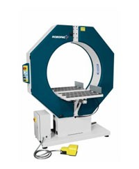 Robopac Compacta Manual Banding and Spiral Stretch Wrapping Machine